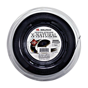 Multifilament String Solinco X Natural 1.20 200 m Reel  Black 1920087