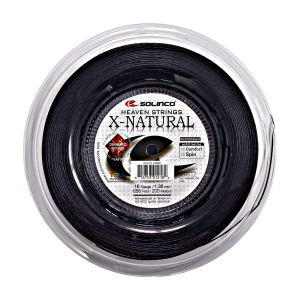 Multifilament String Solinco X Natural 1.30 200 m Reel  Black 1920084