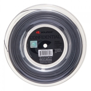 Monofilament String Solinco Confidential 1.30 200 m Reel  Grey 1920210