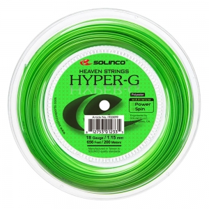 Monofilament String Solinco Hyper G 1.15 200 m Reel  Green 1920105