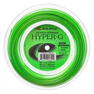 Monofilament String Solinco Hyper G 1.25 200 m Reel  Green 1920101