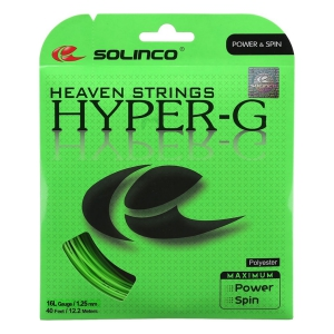 Monofilament String Solinco Hyper G 1.25 Set 12 m  Green 1920100