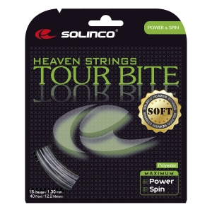 Monofilament String Solinco Tour Bite Soft 1.30 Set 12 m  Grey 1920058