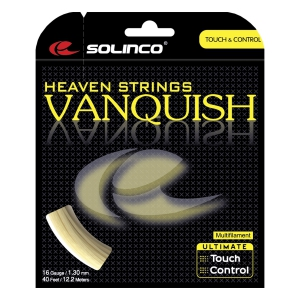 Multifilament String Solinco Vanquish 1.30 Set 12 m  Natural 1920013