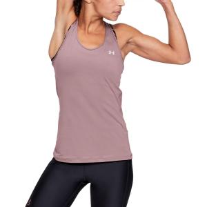Canotte Tennis Donna Under Armour HeatGear Armour Racer Canotta  Hushed Pink/Metallic Silver 13289620662
