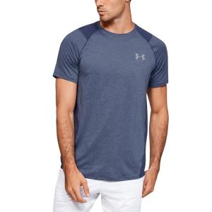 Maglietta Tennis Uomo Under Armour MK1 Maglietta  Blue 13234150497