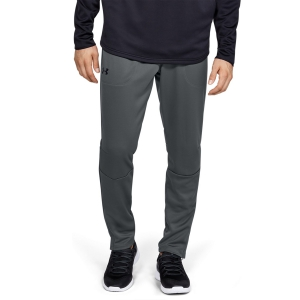 Pantaloni e Tights Tennis Uomo Under Armour MK1 WarmUp Pantaloni   Pitch Gray/Black 13452800013
