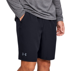 Pantaloncini Tennis Uomo Under Armour Qualifier Wg Perf 8in Pantaloncini  Black/Pitch Gray 13276760002