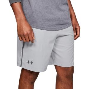 Pantaloncini Tennis Uomo Under Armour Qualifier Wg Perf 8in Pantaloncini  Gray 13276760011