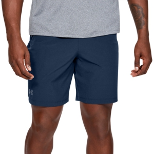 Pantaloncini Tennis Uomo Under Armour Qualifier Wg Perf 8in Pantaloncini  Navy 13276760409