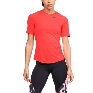 Women`s Tennis T-Shirts and Polos Under Armour Rush TShirt  Red 13555830628