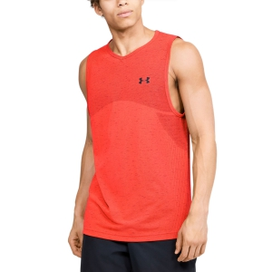 Maglietta Tennis Uomo Under Armour Seamless Canotta  Red 13514470628