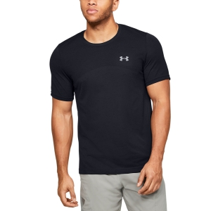 Maglietta Tennis Uomo Under Armour Seamless Maglietta  Black 13514490001