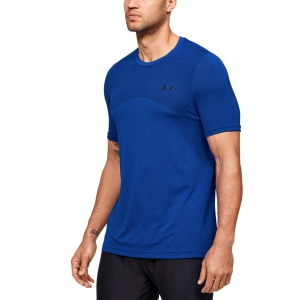Maglietta Tennis Uomo Under Armour Seamless Maglietta  Blue 13514490486