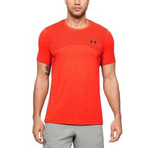 Maglietta Tennis Uomo Under Armour Seamless Maglietta  Red 13514490628