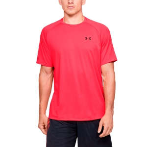 Maglietta Tennis Uomo Under Armour Tech 2.0 Maglietta  Red 13264130628