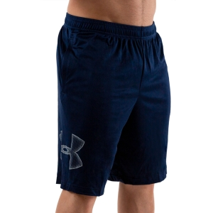 Men's Tennis Shorts Under Armour Tech Graphic 10in Shorts  Academy/Steel 13064430409
