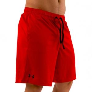 Pantaloncini Tennis Uomo Under Armour Tech Mesh 9in Pantaloncini  Red 13287050600