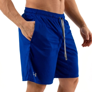 Men's Tennis Shorts Under Armour Tech Mesh 9in Shorts  Royal 13287050400