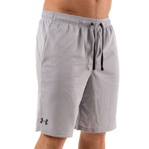 Pantaloncini Tennis Uomo Under Armour Tech Mesh 9in Pantaloncini  Mod Gray 13287050011