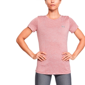 Women`s Tennis T-Shirts and Polos Under Armour Tech Twist TShirt  Pink 12772060662