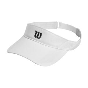 Tennis Hats and Visors Wilson Rush Knit Ultralight Visor  White WR5005009