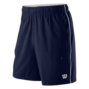 Men's Tennis Shorts Wilson Competition 8in Shorts  Peacoat WRA773807
