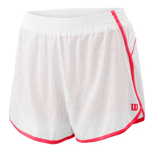 Skirts, Shorts & Skorts Wilson Competition Woven 3.5in Shorts  White/Cherry Pop WRA775407