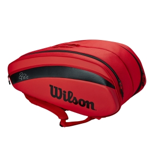 Tennis Bag Wilson Federer DNA x 12 Bag  Red WR8006001