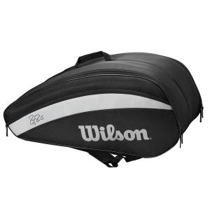 Tennis Bag Wilson Federer Team x 12 Bag  Black WR8005601