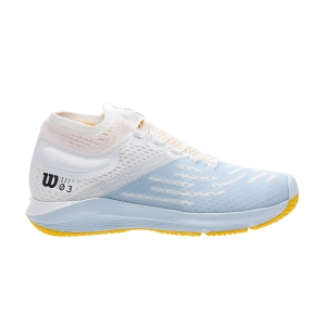 Men`s Tennis Shoes Wilson Kaos 3.0 Sft  White/Omphalodes/Gold Fusion WRS325910