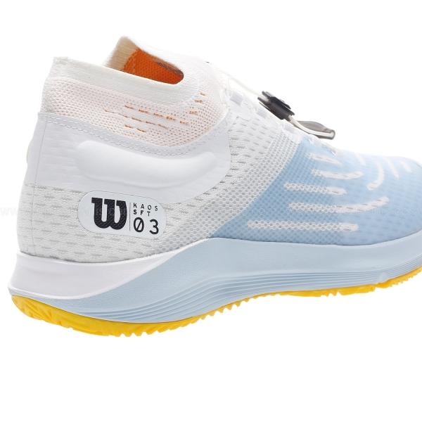 Wilson Kaos 3.0 Sft - White/Omphalodes/Gold Fusion