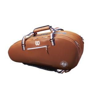 Tennis Bag Wilson Roland Garros Tour x 12 Bag  Clay/Navy/White WR8006501