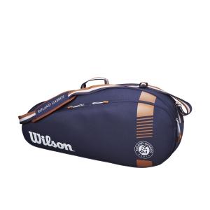 Tennis Bag Wilson Roland Garros Team x 3 Bag  Navy/Clay WR8006801