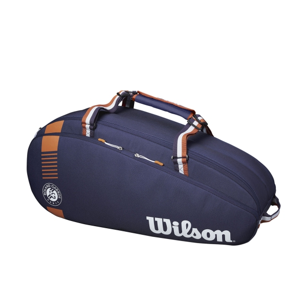 Wilson Roland Garros Team x 6 Bag - Navy/Clay