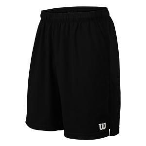 Men's Tennis Shorts Wilson Rush 9in Woven Shorts  Black WRA746603