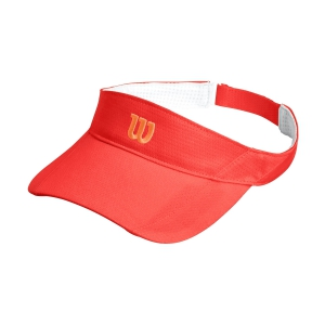 Tennis Hats and Visors Wilson Rush Knit Ultralight Visor  Cayenne WR5005013