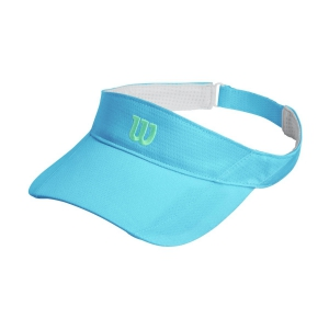 Tennis Hats and Visors Wilson Rush Knit Ultralight Visor  Niagara/Blue WR5005012