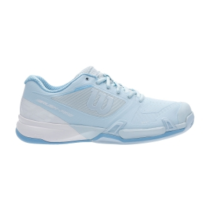 Women`s Tennis Shoes Wilson Rush Pro 2.5 Clay Court  Omphalodes/White/Alaskan Blue WRS326450