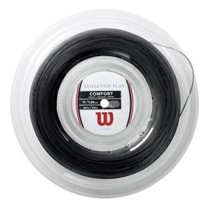 Multifilament String Wilson Sensation Plus 1.28 200 m Reel  Black WR830030117