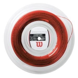 Multifilament String Wilson Sensation Plus 1.28 200 m Reel  Red WR830050117