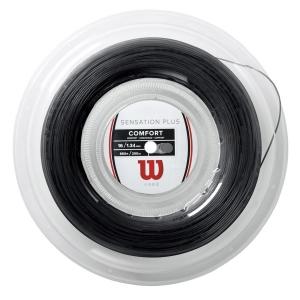 Multifilament String Wilson Sensation Plus 1.34  200 m Reel  Black WR830030116