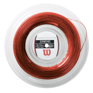 Multifilament String Wilson Sensation Plus 1.34  200 m Reel  Red WR830050116