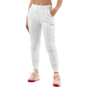Women's Tennis Pants and Tights Wilson Since 1914 Jogger Pants  White WRA781301
