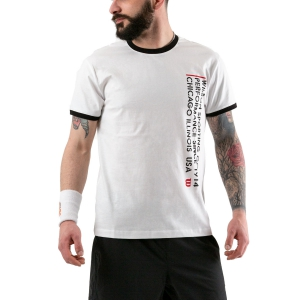 Camisetas de Tenis Hombre Wilson Since 1914 Camiseta  White WRA784201