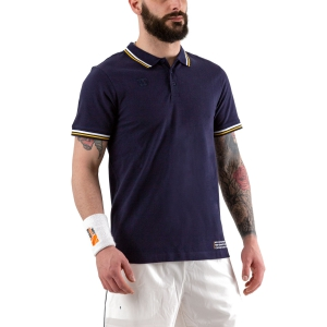 Men's Tennis Polo Wilson Since 1914 Pique Polo  Peacoat WRA780103