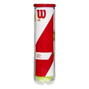 Wilson Tennis Balls Wilson Team  4 Ball Can WRT111900