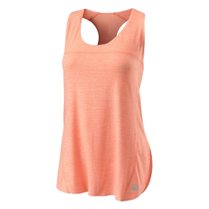 Women`s Tennis Tanks Wilson UL Kaos Tank  Papay/White WRA780701