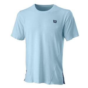 Maglietta Tennis Uomo Wilson UL Kaos Crew Maglietta  Glacier Blu WRA779201