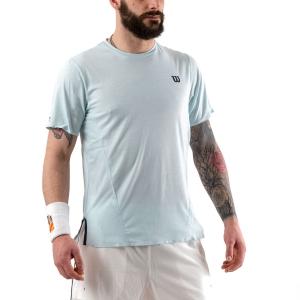 Camisetas de Tenis Hombre Wilson UL Kaos Crew Camiseta  Glacier Blue WRA779201